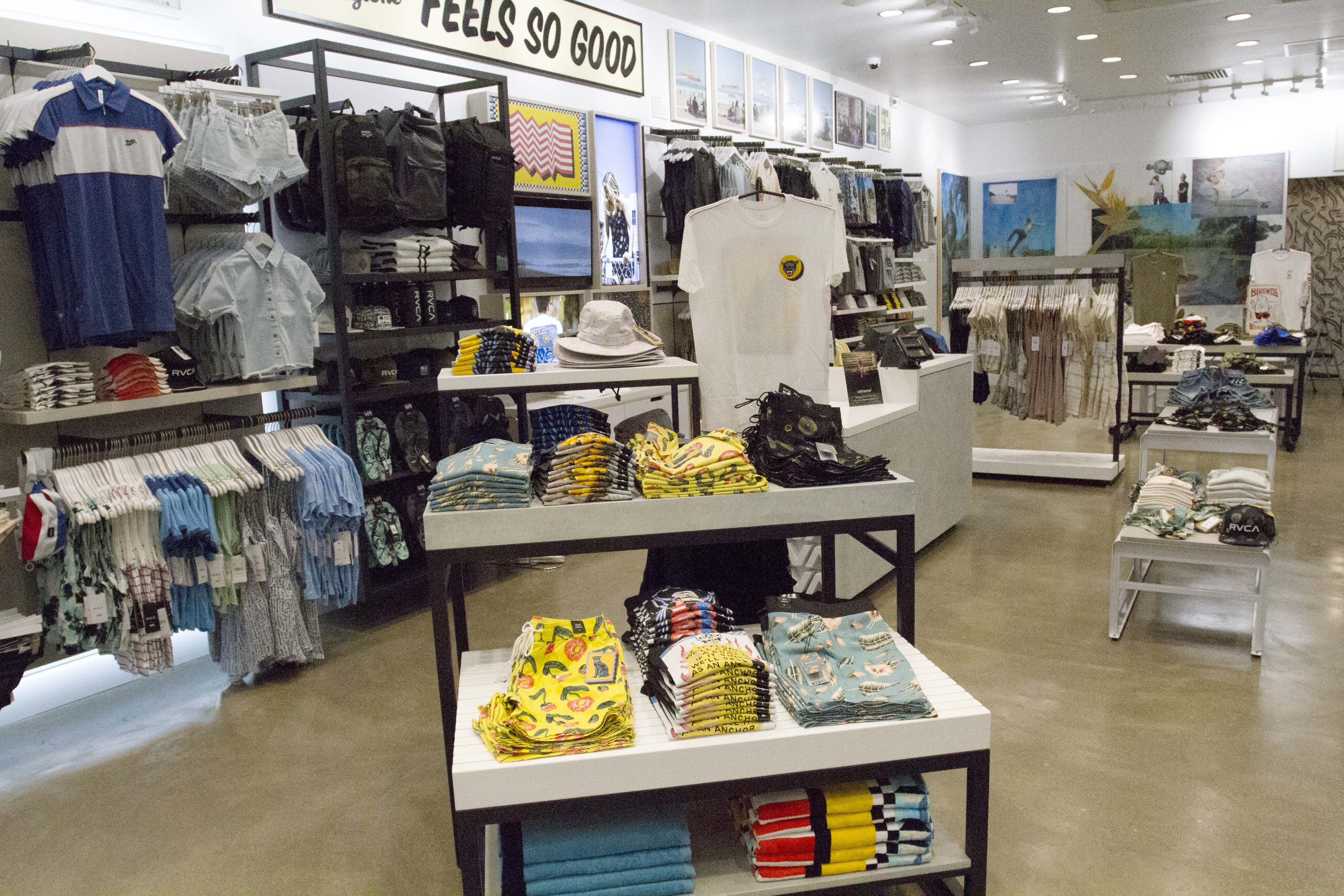 RVCA Opens Store at Mission Viejo Mall - Shop-Eat-Surf
