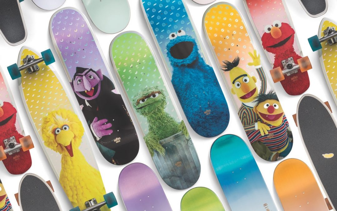 Globe Collaborates WithSesame Street