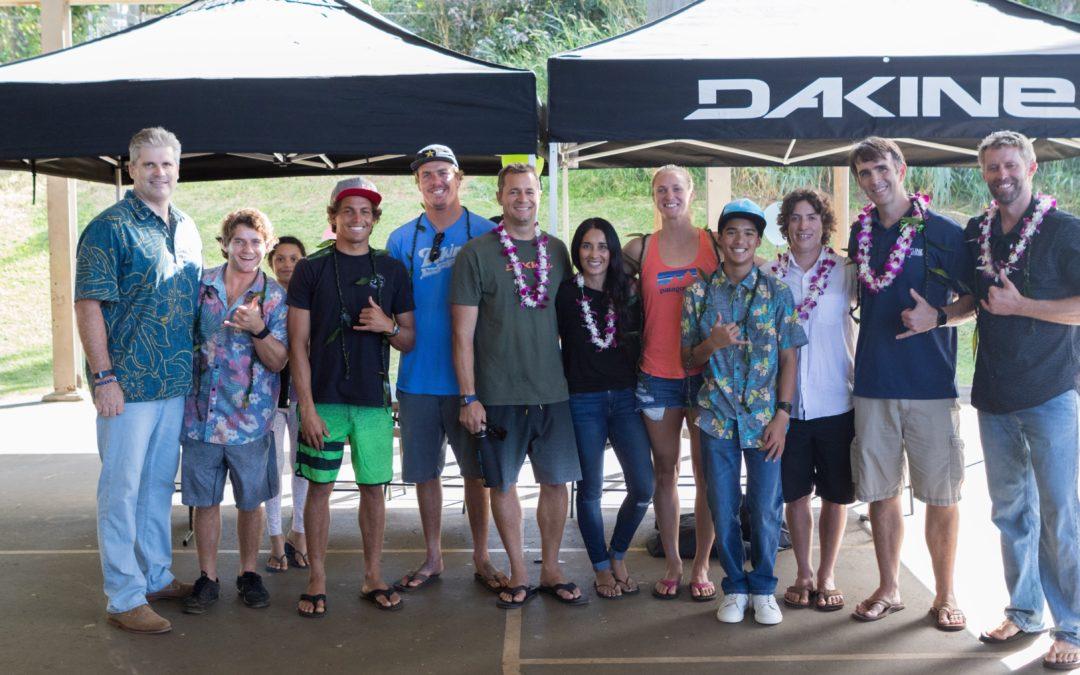 Dakine, Rob Machado Foundation, and Mizu Water Bottles Unite