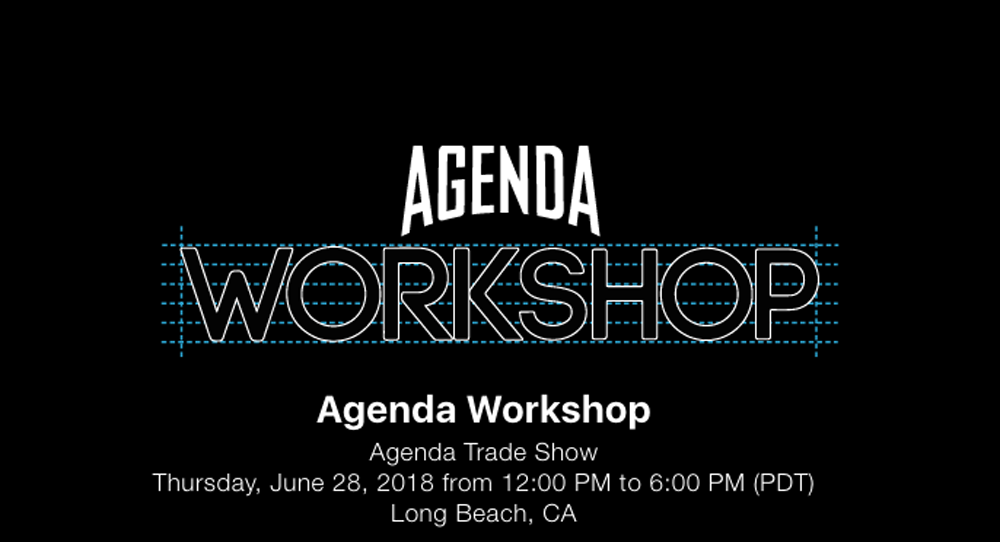 Reserve Your Seat for the Agenda Workshop