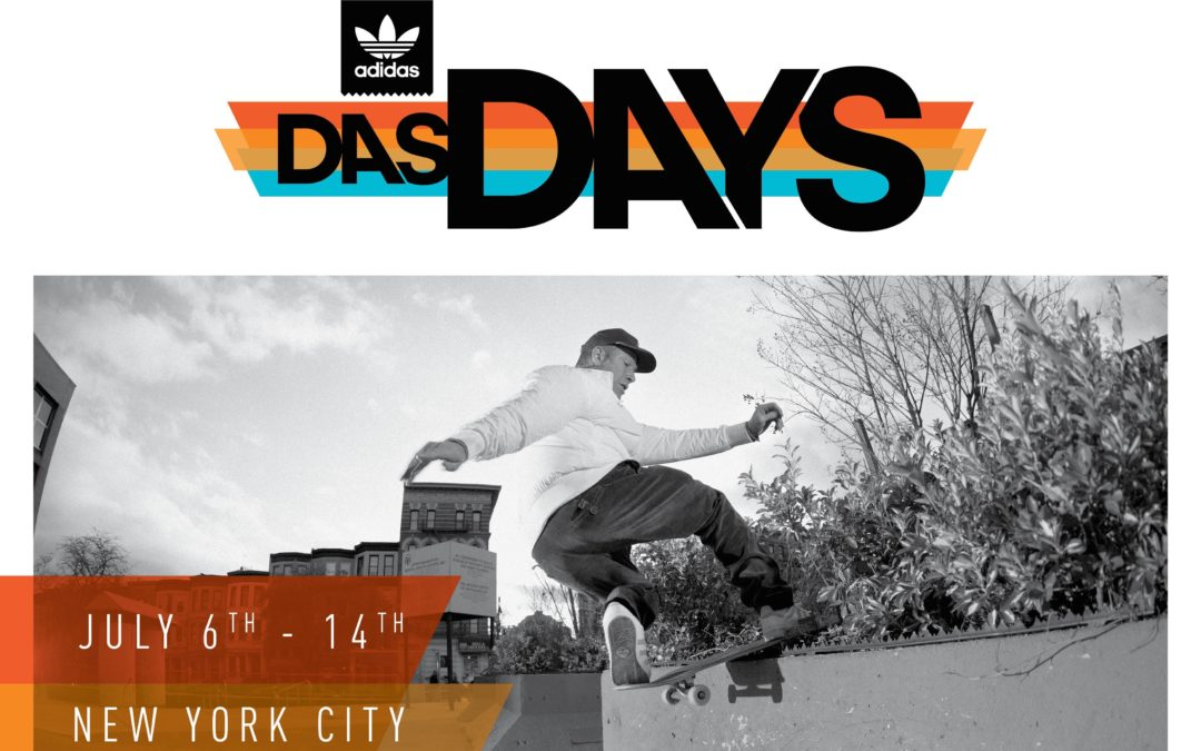 adidas Skateboarding Announces Das Days New York