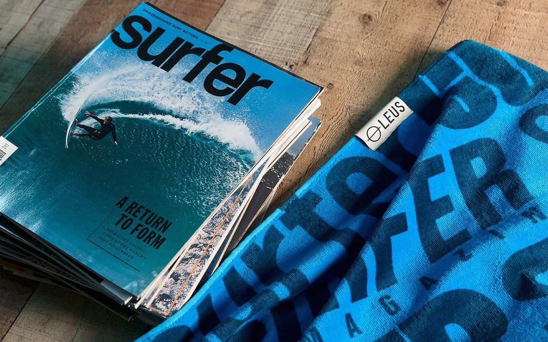 LEUS Collaborates With Surfer Magazine