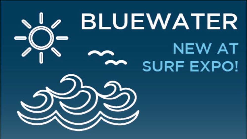 Bluewater Section to Showcase 30 New Watersports Brands at Surf Expo's Sept. Show