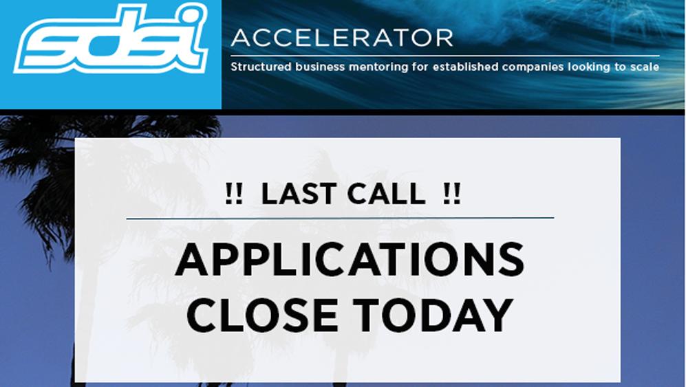SDSI's Accelerator Program – Last Call for Applications
