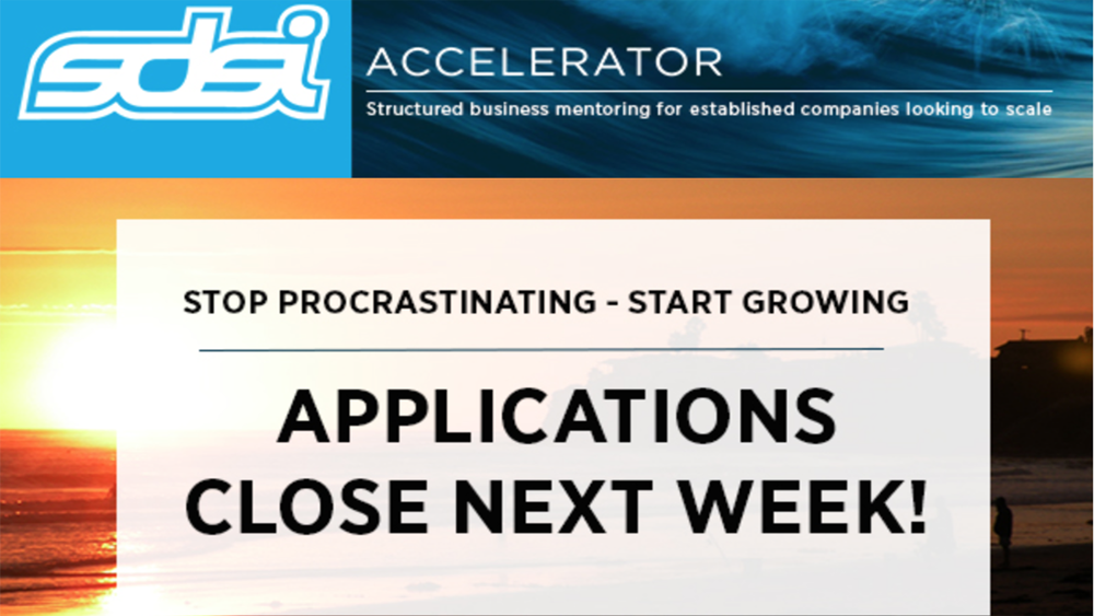 SDSI Accelerator Applications Close August 20th