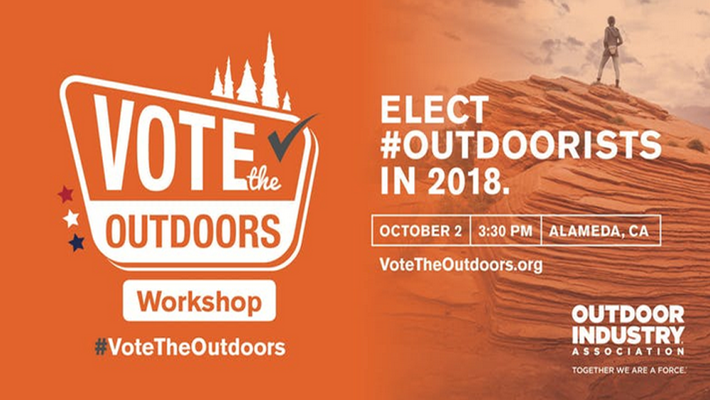 OIA on The Road: Vote the Outdoors Workshop, Networking and Happy Hour