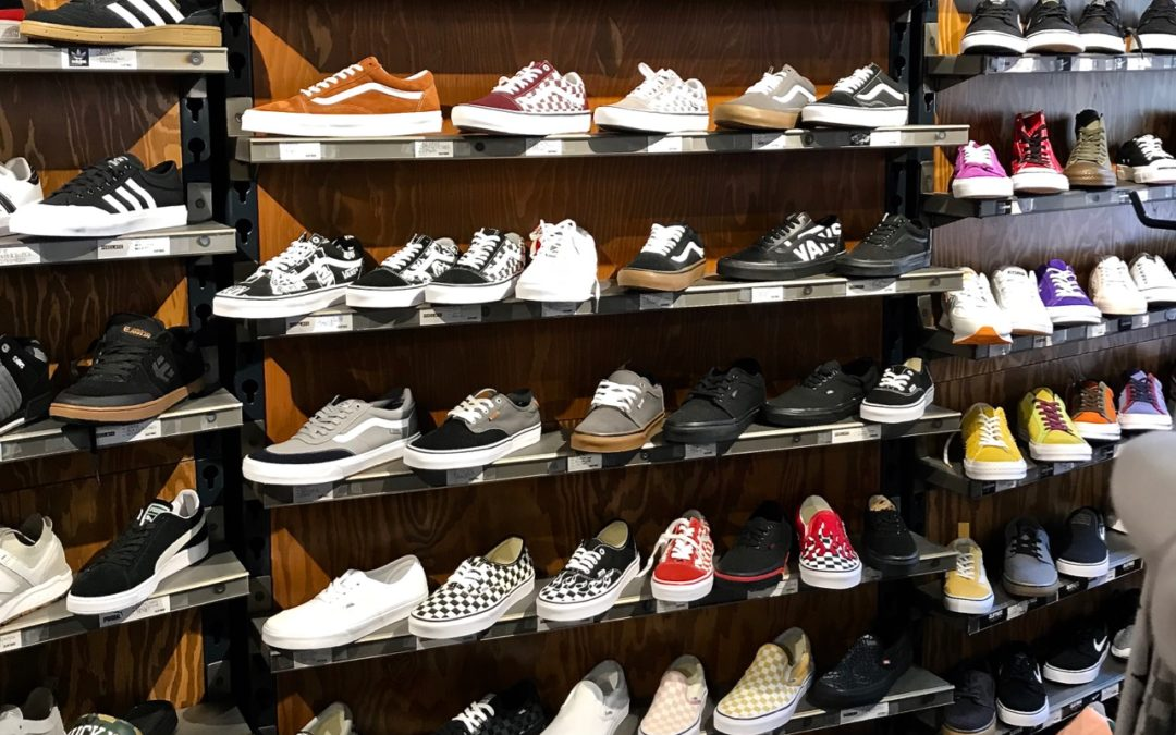 Footwear Shines at Zumiez in September