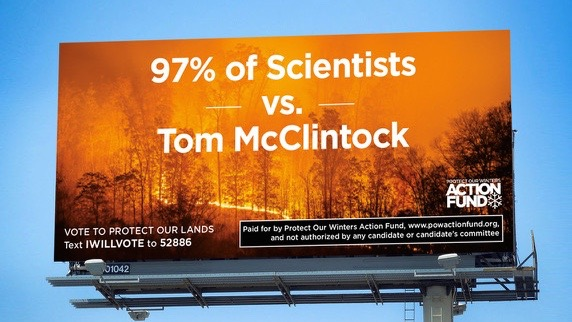 POW Action Fund Billboards Call Out Rep. Tom McClintock
