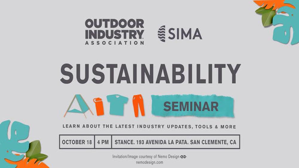 OIA & SIMA Sustainability Seminar, Networking & Happy Hour