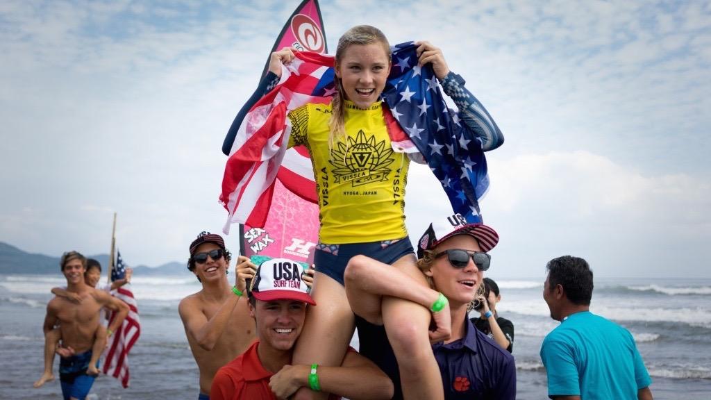 Records Set for 2018 VISSLA ISA World Junior Surfing Championship