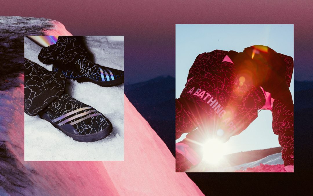 Adidas Snowboarding Partners With BAPE