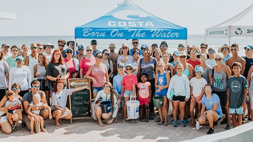 Costa Marks 35 Years in Business With 35 Beach Cleanups