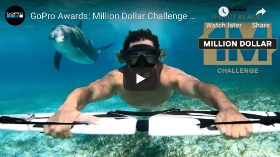 GoPro Selects Million Dollar Challenge Winners