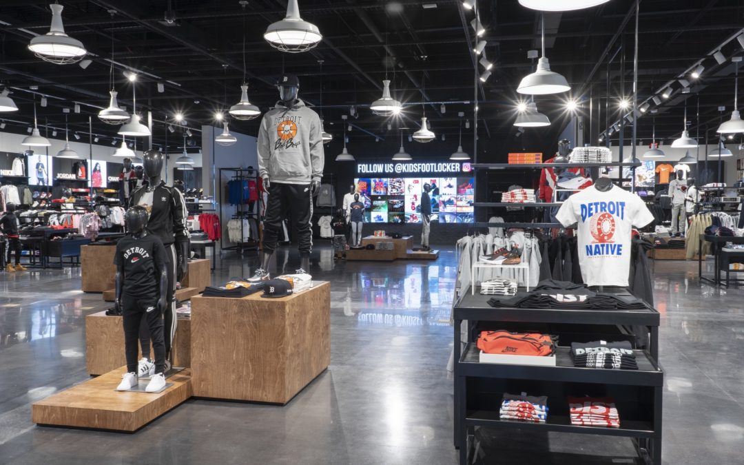 Foot Locker Introduces 'Power Store' Model