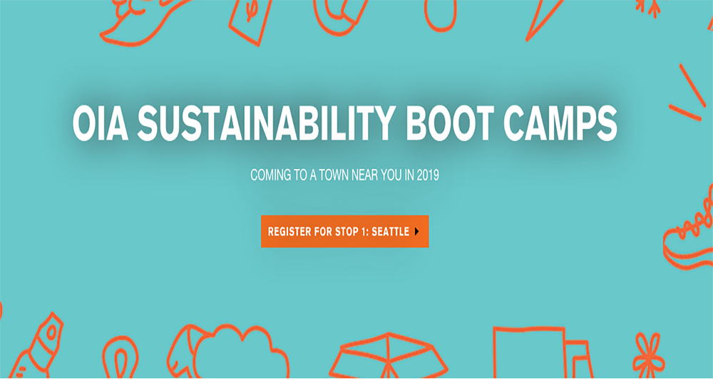 OIA's Sustainability Boot Camp