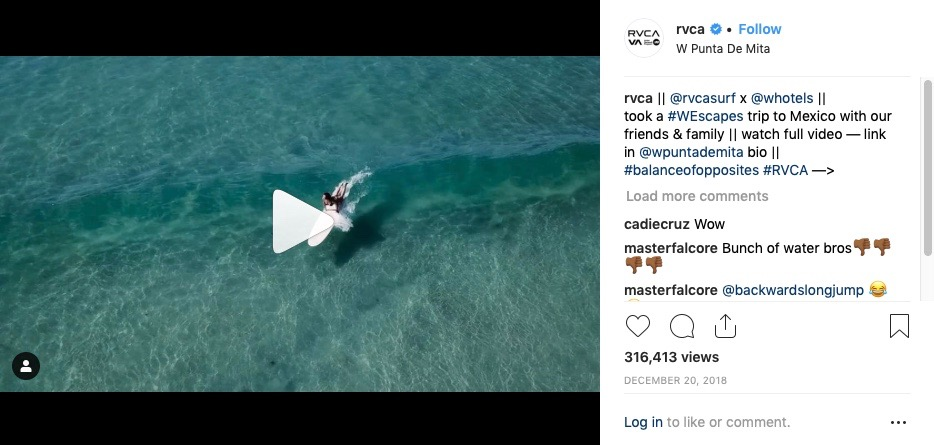 RVCA's Intriguing Partnership with W Hotels - Shop-Eat-Surf