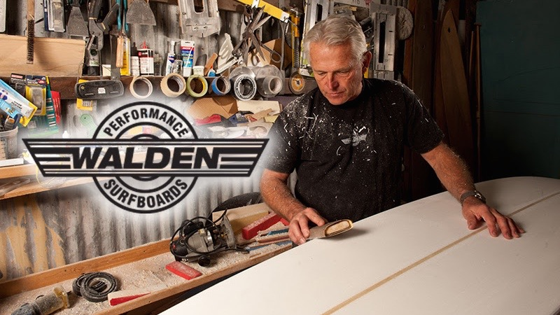 Surf Technicians Partners With Steve Walden Surfboards