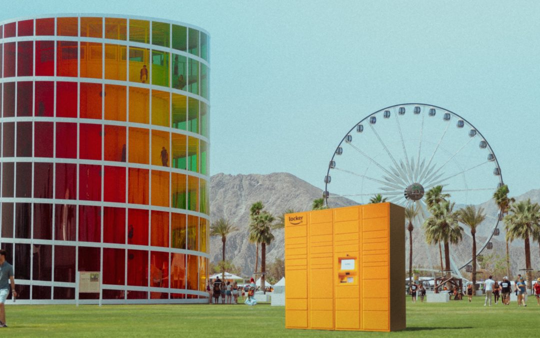 Amazon to Offer Amazon Lockers at Coachella Music Festival