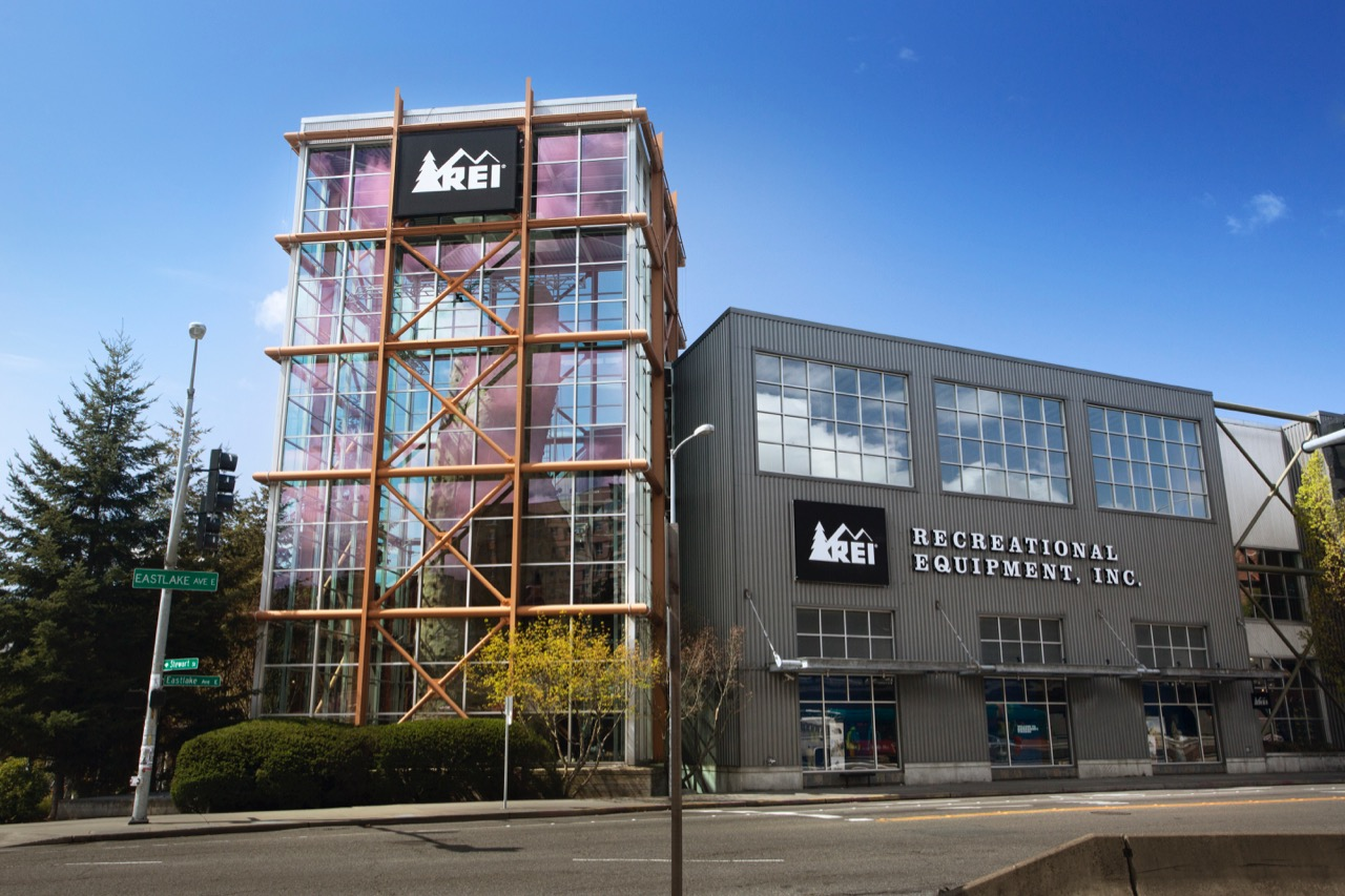 REI Seattle Close up