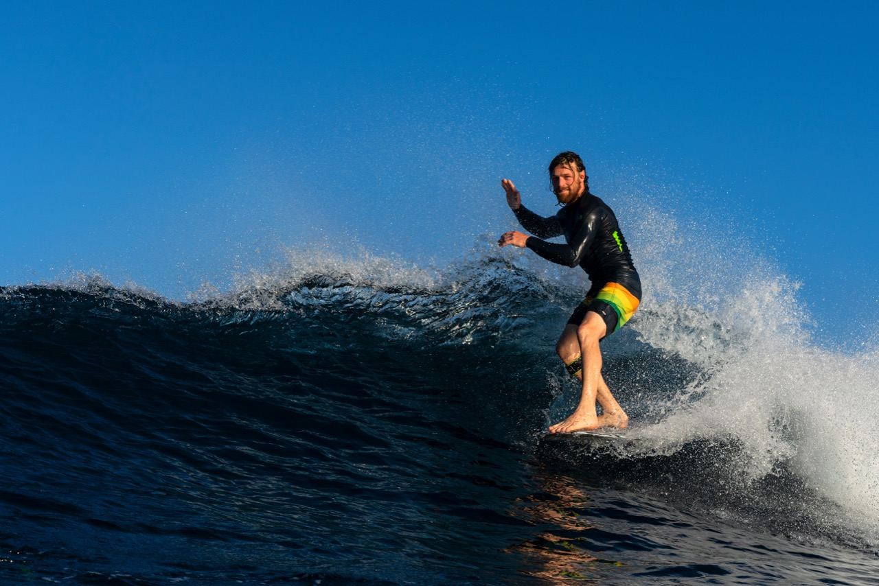 Ben Skinner rides Thunderbolt Technology
