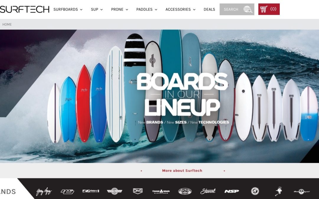 Surftech Launches New Website for 2019