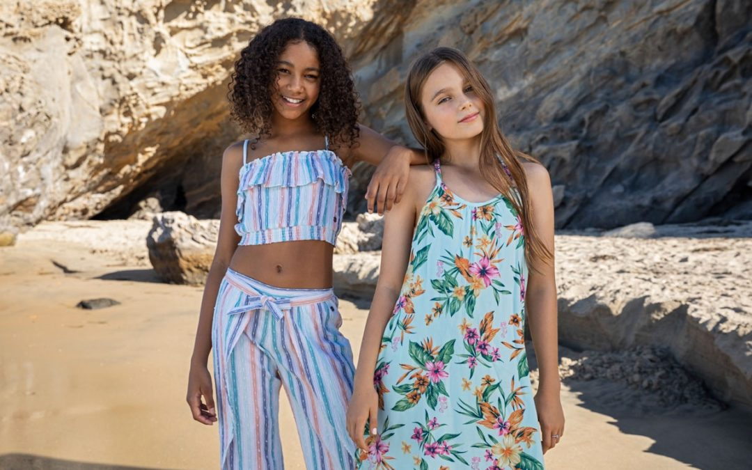 "Roxy Girls Launches Collab with Disney's ""Little Mermaid"""