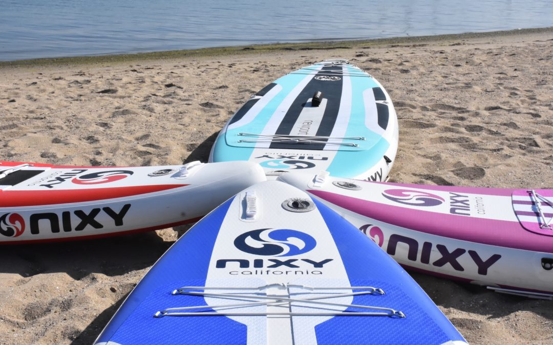 NIXY Named Best Inflatable SUP Boards