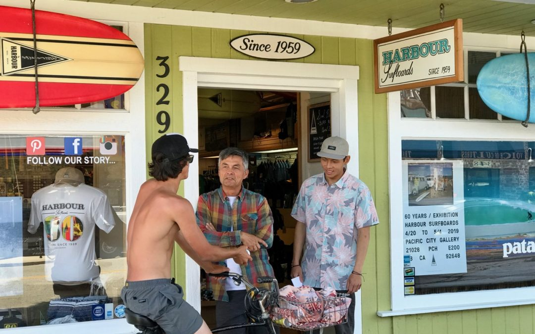 Harbour Surf Retail Owner Robert Howson: SES Podcast