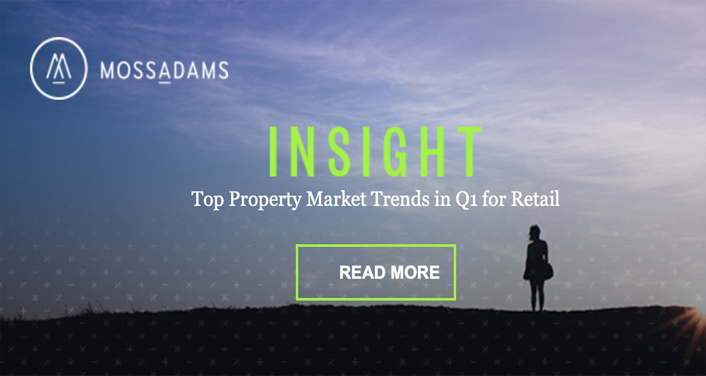 First Quarter Real Estate Trends for Retail