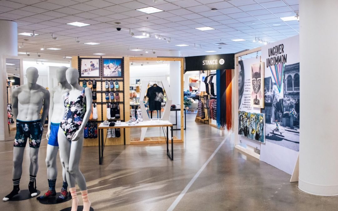 Stance Opens Pop-Up at Nordstrom