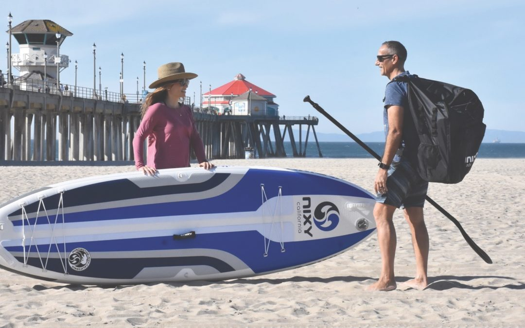NIXY Introduces The Most Compact Inflatable SUP