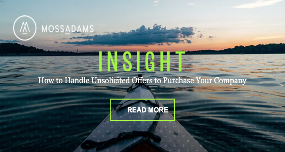 Navigate Unsolicited Offers to Purchase Your Business