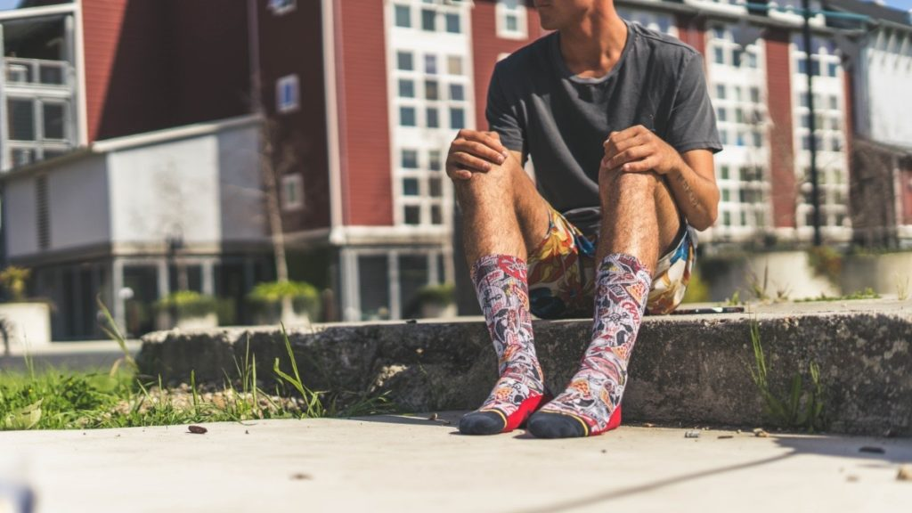 Pizzanista Sock by MERGE4 2