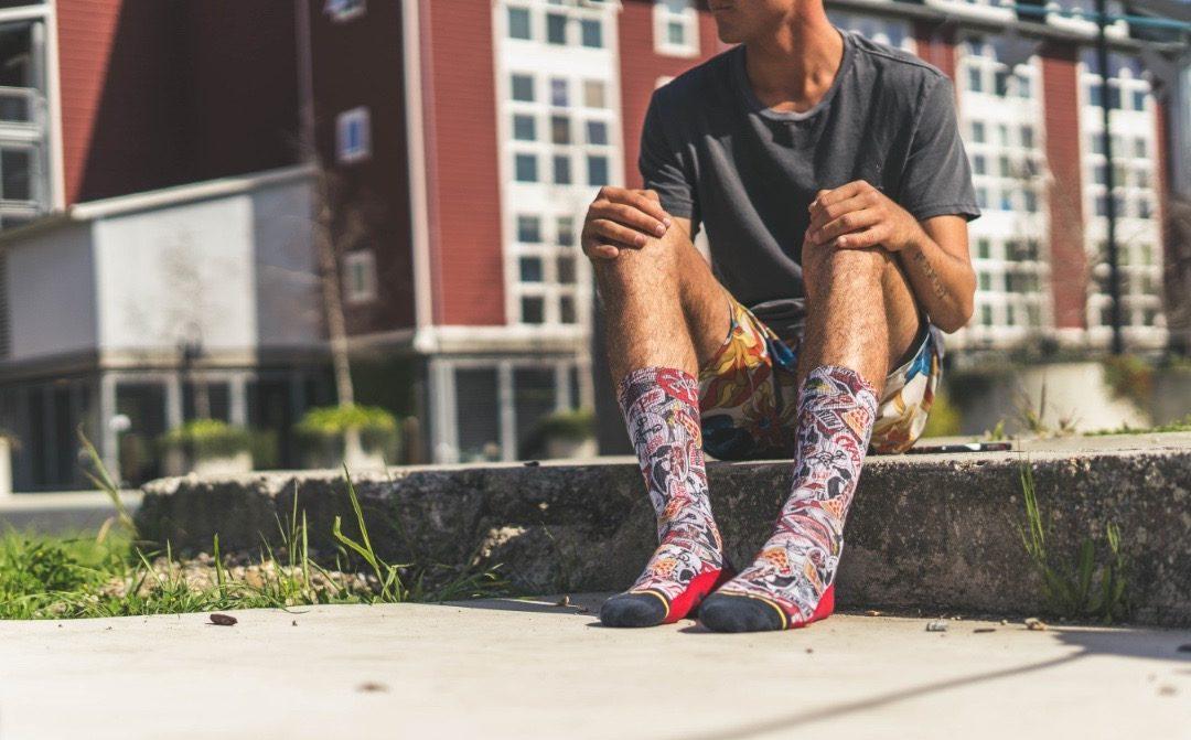 MERGE4 Releases Pizzanista! Sock