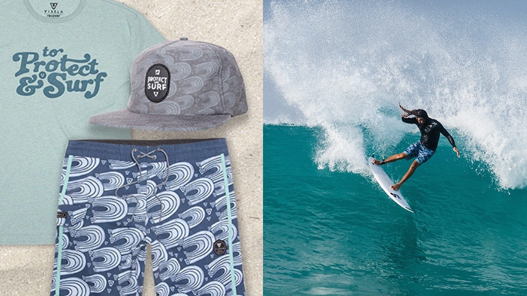 The Surfrider Foundation and Vissla Collaborate