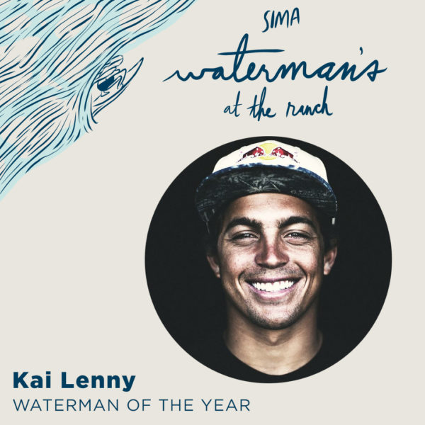 Waterman of the Year Kai Lenny
