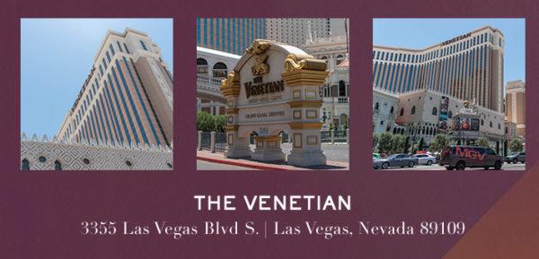 Hotel, Venetian, Agenda Las Vegas