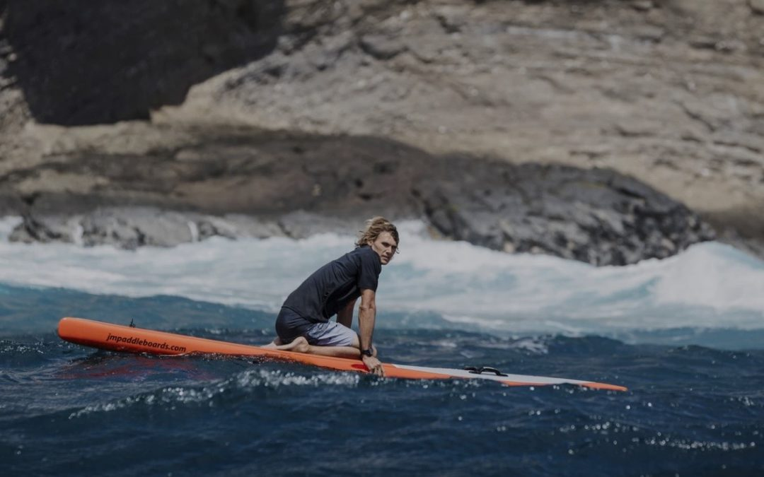 "Big Wave Surfer to Paddle ""Seven Crossings"""