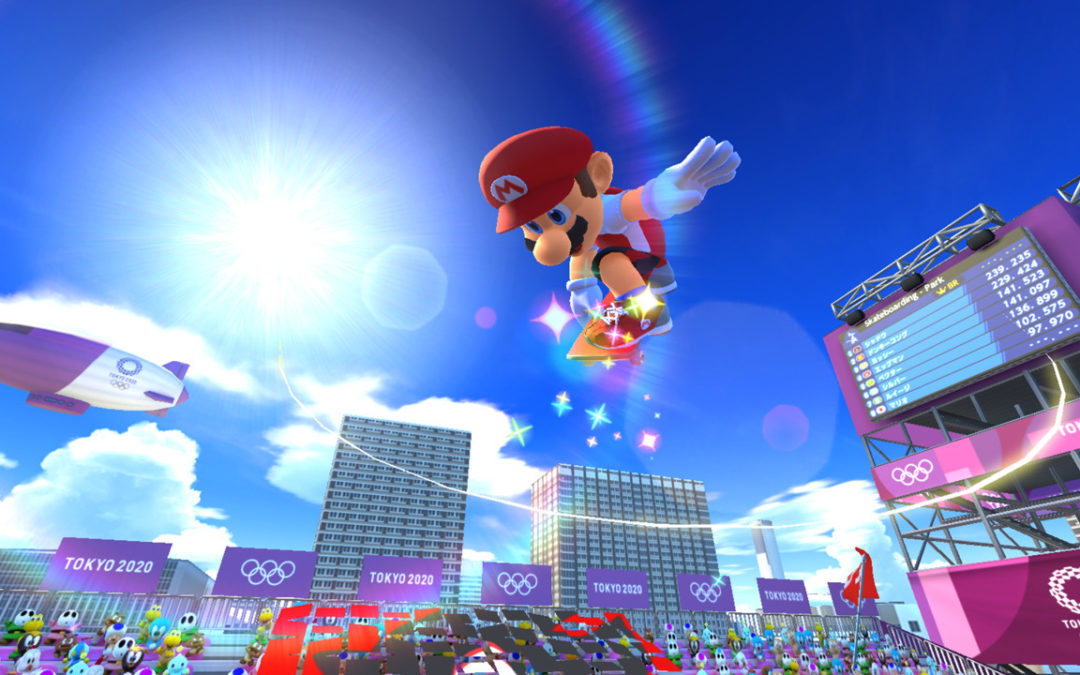 Surfing and Skateboarding Debut in Nintendo Game Ahead of Olympics