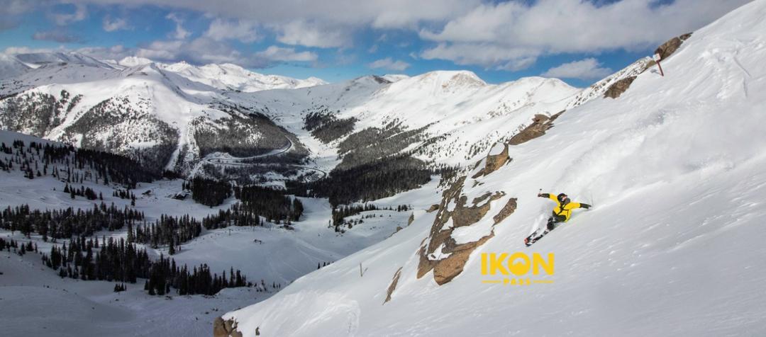 Ikon Pass Adds Arapahoe Basin Ski Area