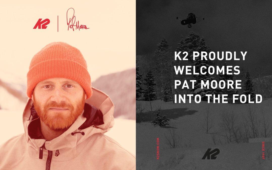 K2 Snowboarding Welcomes Pat Moore