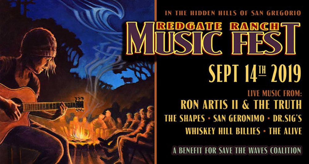 Save the Waves Coalition's Redgate Ranch Music Fest