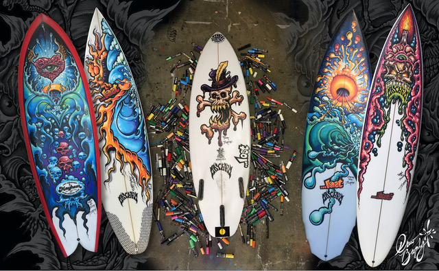 Surfboard Paint Party Coming Up This Weekend