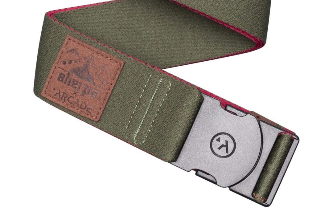 Sherpa Adventure Gear Partners with Arcade Belts