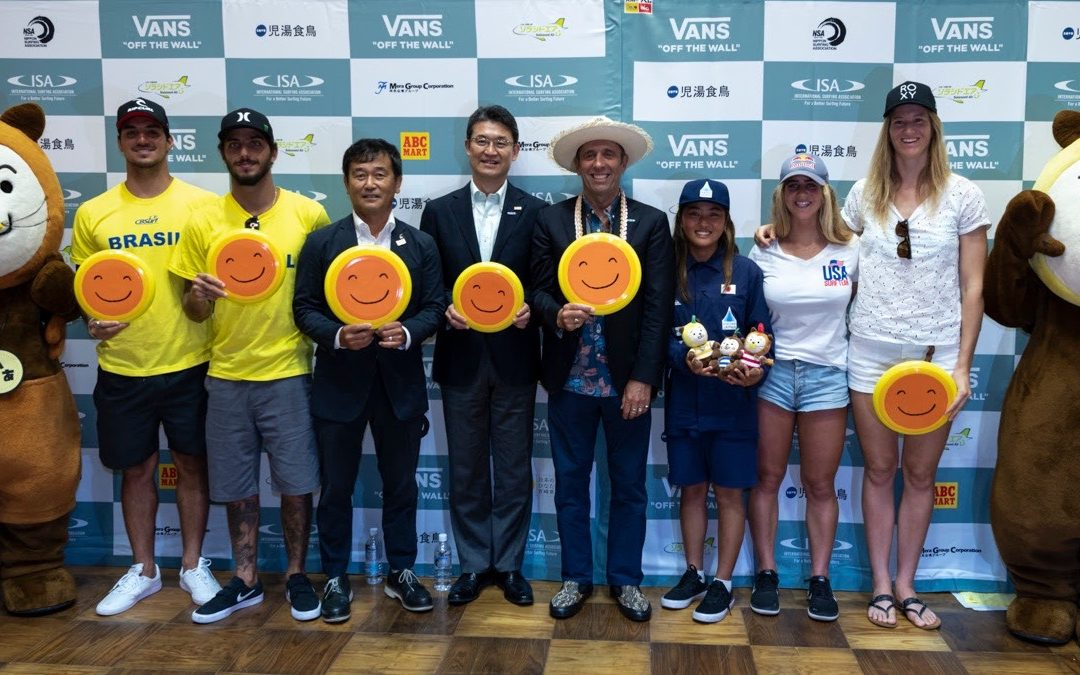 Record-breaking 55 Nations Set to Kick-Off 2019 ISA World Surfing Games