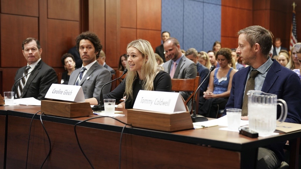 Athletes Testify in Senate on Climate, Environmental Issues