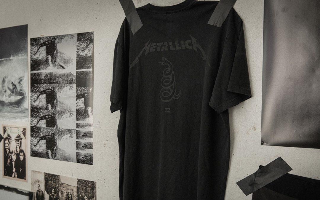 Billabong LAB Collaborates with Metallica