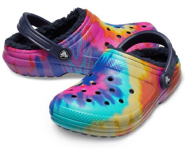 Crocs rainbow
