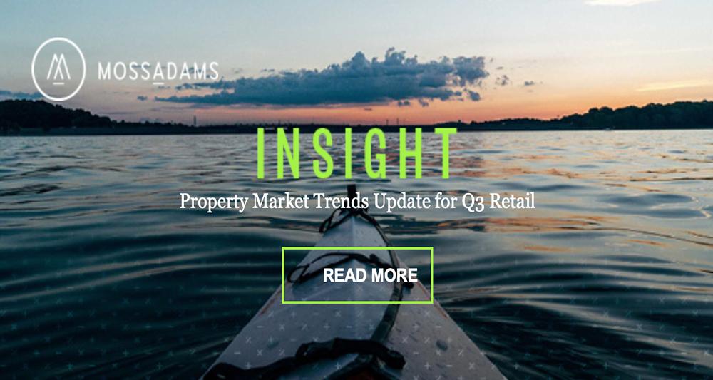 Third Quarter Real Estate Trends for Retail