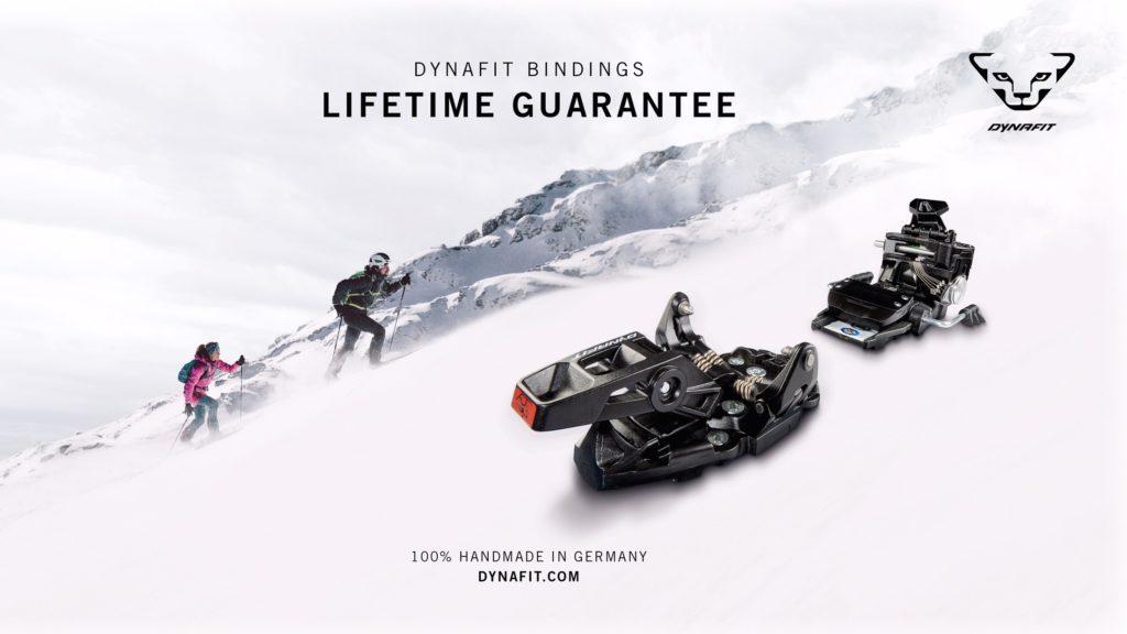 DYNAFIT Lifetime Guarantee Visual